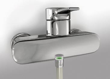 neoperl wassersparen in der dusche. Black Bedroom Furniture Sets. Home Design Ideas